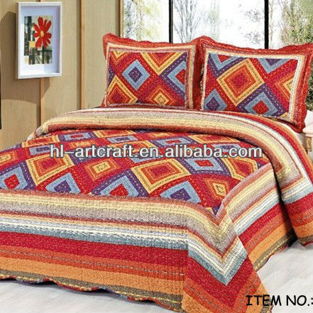 Most popular designs high quality king size bedspreads