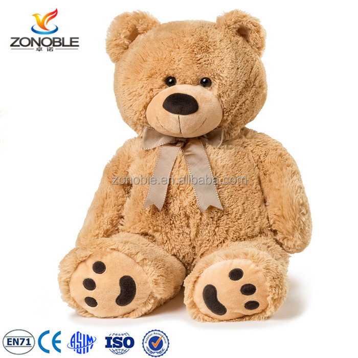 Factory wholesale unstuffed teddy bear 200CM size big plush animal wedding gift shell unstuffed teddy bear skins