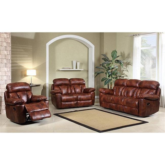 Electric Decoro Leather Sofa Recliner