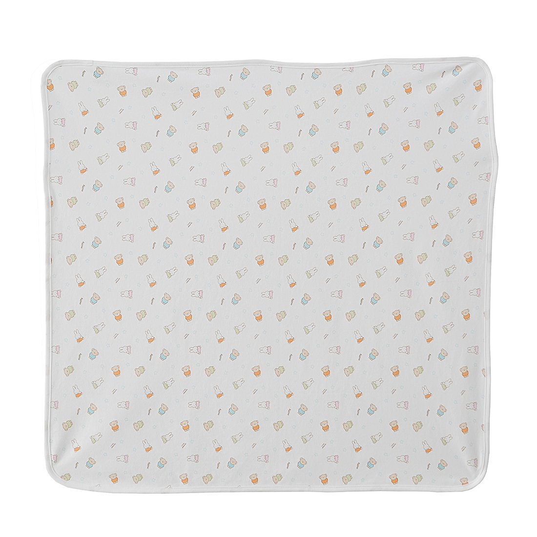 Miffy Swaddle Blanket Baby Boy and Girl 100% Certified Organic Cotton
