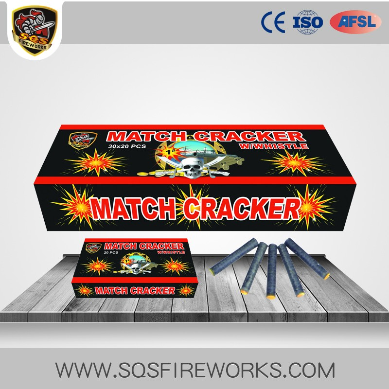 1# MATCH CRACKER W/WHISTLE FIREWORKS