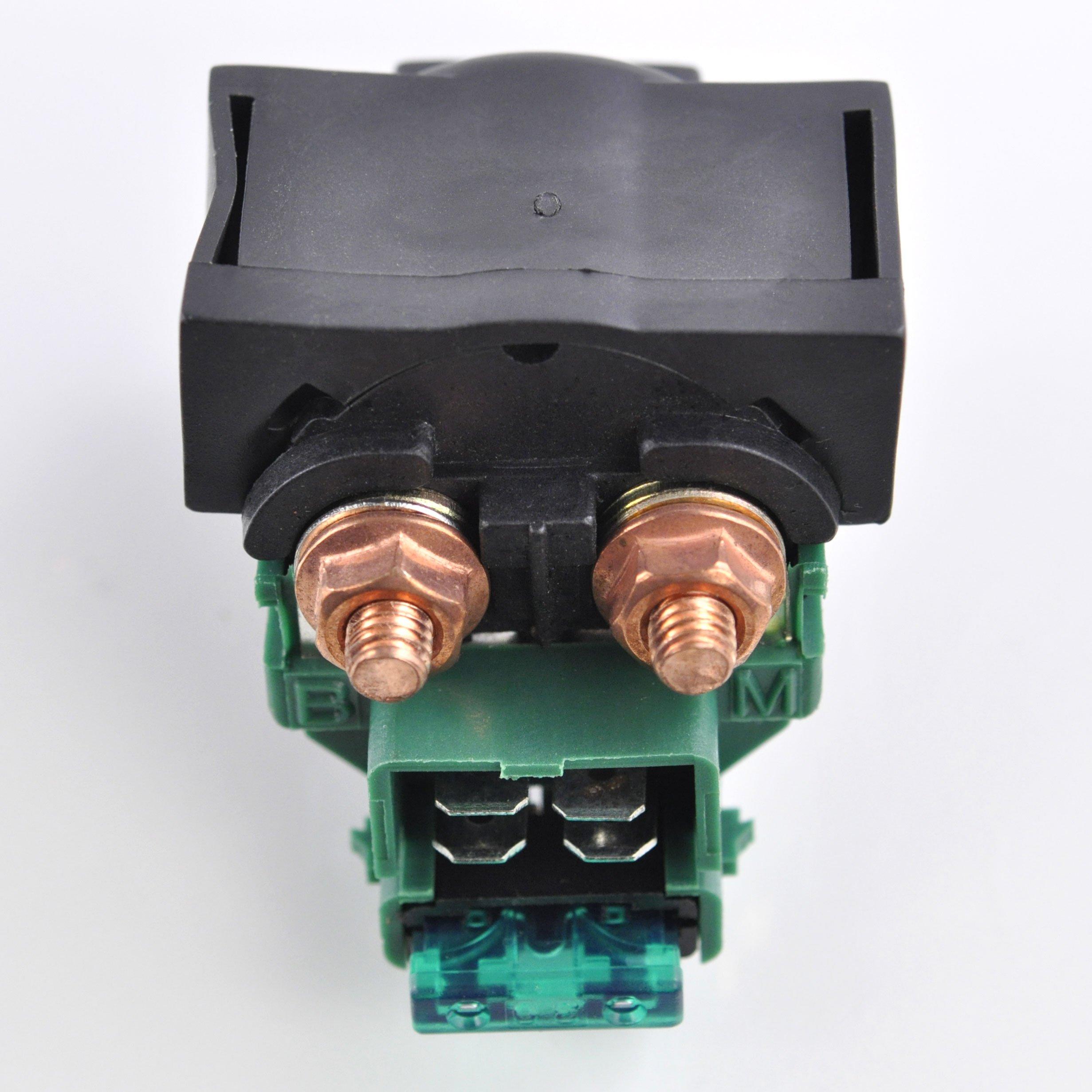 Starter Relay Solenoid For Honda CB CBR 400 650 750 900 1000 CBX CX 500 1000 GL 1100 1200 1500 VT VF 600 750 OEM Repl.#35850-425-017 35850-MB0-007 35850-ME8-007 35850-MK3-671 38300-415-P00