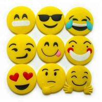 Wholesale custom tourist souvenir 3D soft PVC emoji fridge magnet