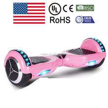 UL2272 6.5inch smart balance bluetooth hoverboard with overcharge protection