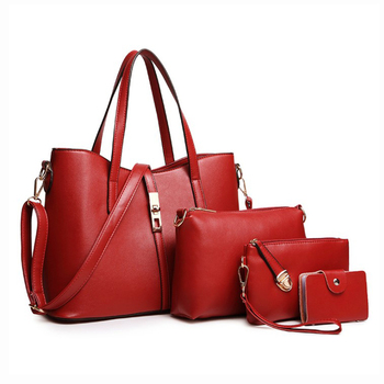China supplier casual Ladies bags designer PU leather handbag