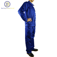 Custom Made Cotton Automotive Work Wear Men Safety Winter Coverall Workwear Uniforms