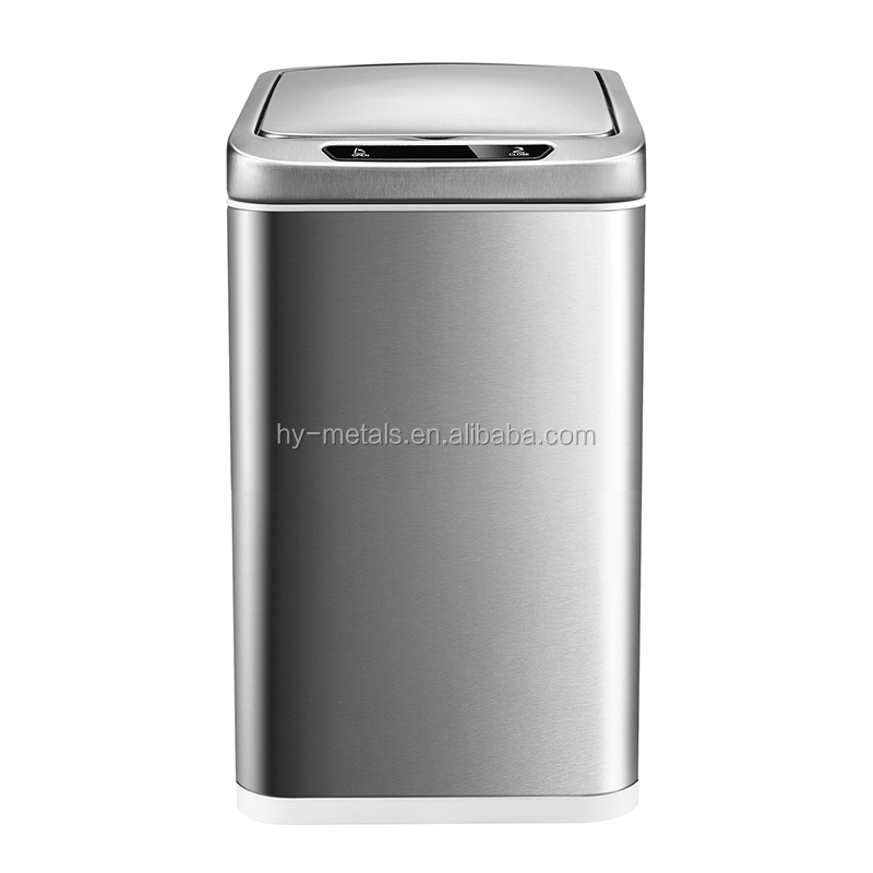 10L Rectangular Sensor Trash Bin