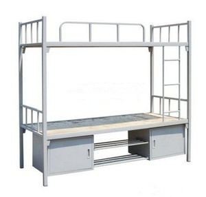 Adult Capsule Bunk Bed for Hostels Steel Metal School Student Dorm Bunk Bed Cheap Strong Army Military Dormitory Loft Bed Frame