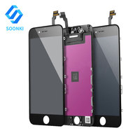 Free Shipping AAA+ LCD Mobile Phone Repair Parts, Touch Screen Digitizer Assembly for Apple IPhone 6 Replace LCD