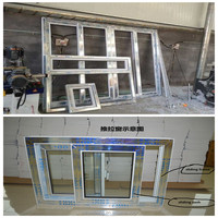 single 5mm glass sliding pvc door profile/plastic for frame