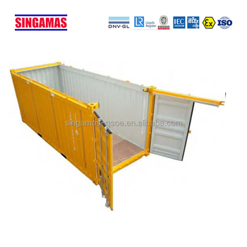 20gp Open Top Container Price With Removable Steel Roof - Buy Open  Top,Containerized Water Treatment Plant,20ft Container Product on  Alibaba com