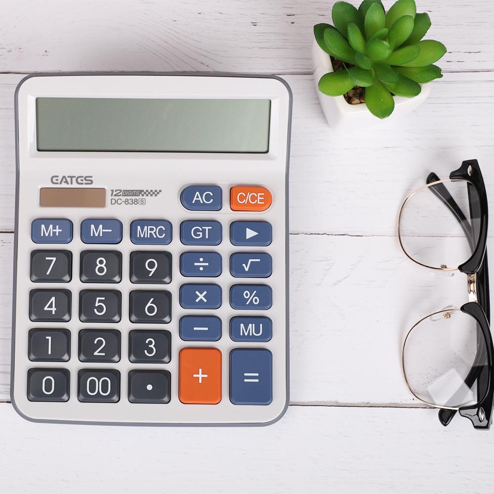 12 digit display solar battery Desktop calculator with good quality  CX-988S