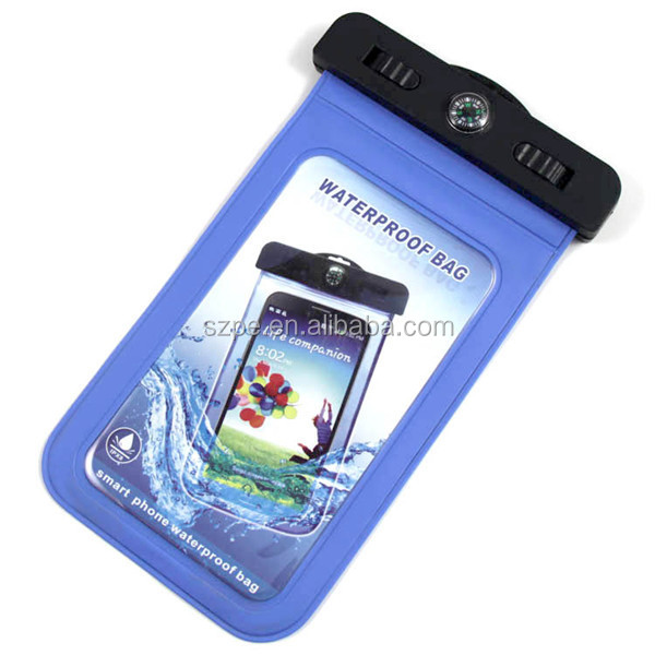 Compass Style Waterproof Case with IPX8 Certificate for iPhone 5, 5G, 4, 4S, 3G, 3GS / Samsung Galaxy S4, S4 Active, S4 Mini