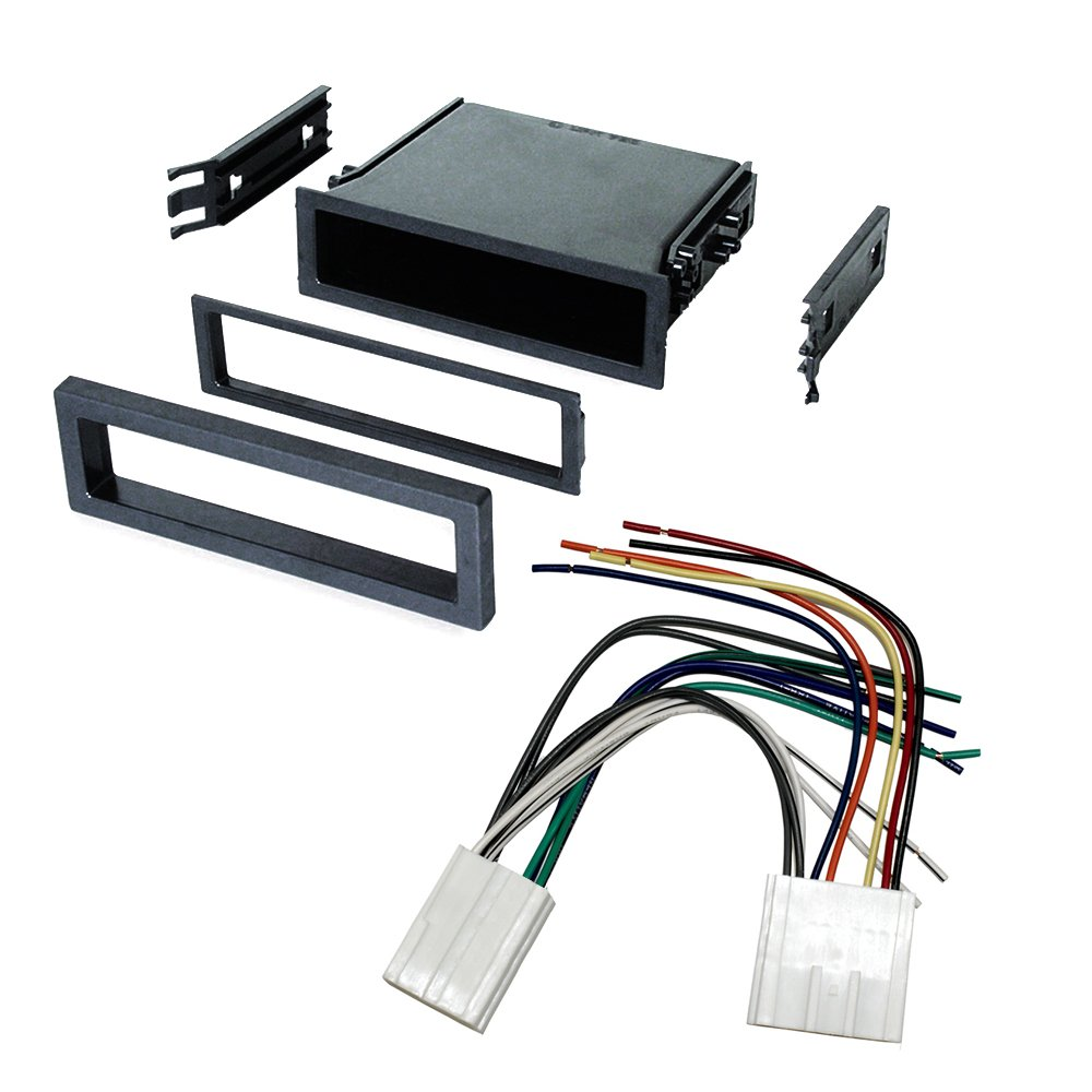 Get Quotations · CAR STEREO RADIO DASH INSTALLATION MOUNTING KIT+ WIRING  HARNESS + RADIO ANTENNA ADAPTER FOR SELECT VOLVO