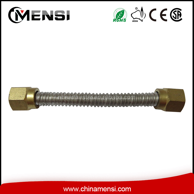 "5/8""-20 UNF S/S Corrugated pipe for gas stove"