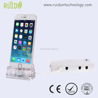 Factory Price cell phone holder and mobile display stand for mobile accessories acrylic