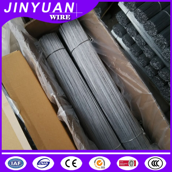 0.3-5 meter long pre cut Construction binding use pvc coated / galvanized iron wire / straight cut wire