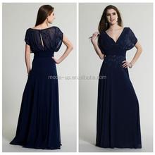 Bead embroidered evening dress, korean dresses new fashion, fashion express dresses