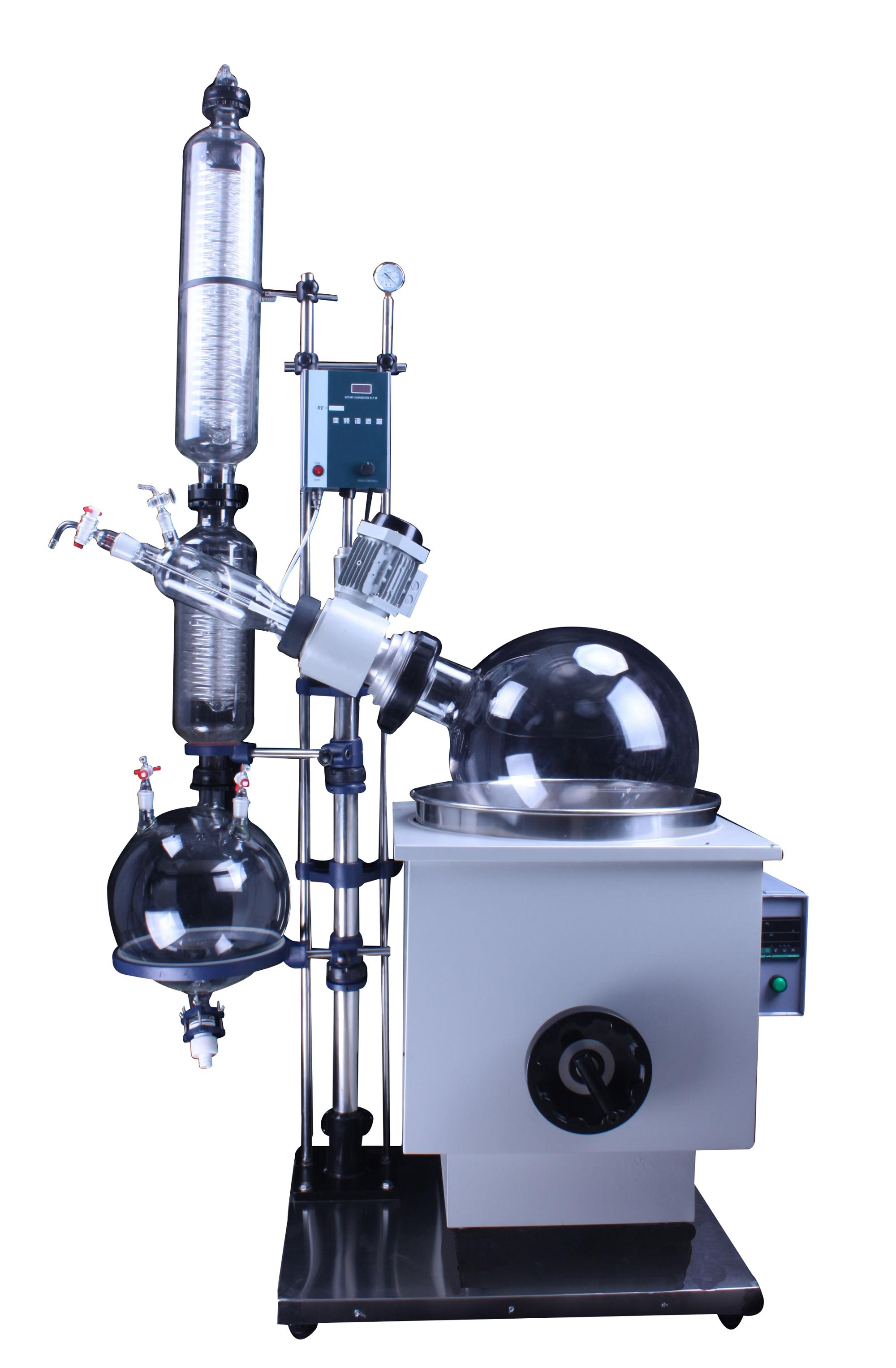 High efficient lab vacuum rotary evaporator with large evaporation area