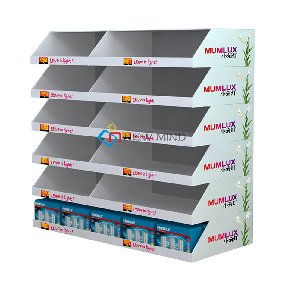 stationery display rack/stationery counter display for department and grocery store promotion