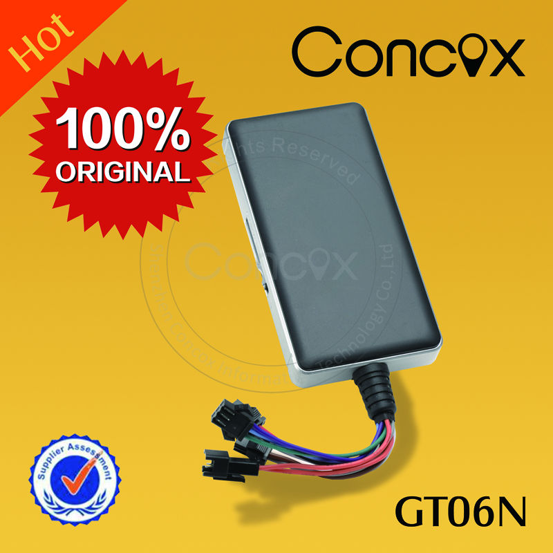 Mini gps chip de rastreamento Concox GT06N sos rastreador