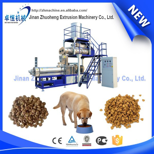 popular and high yiled animal pet food processing line/making machine