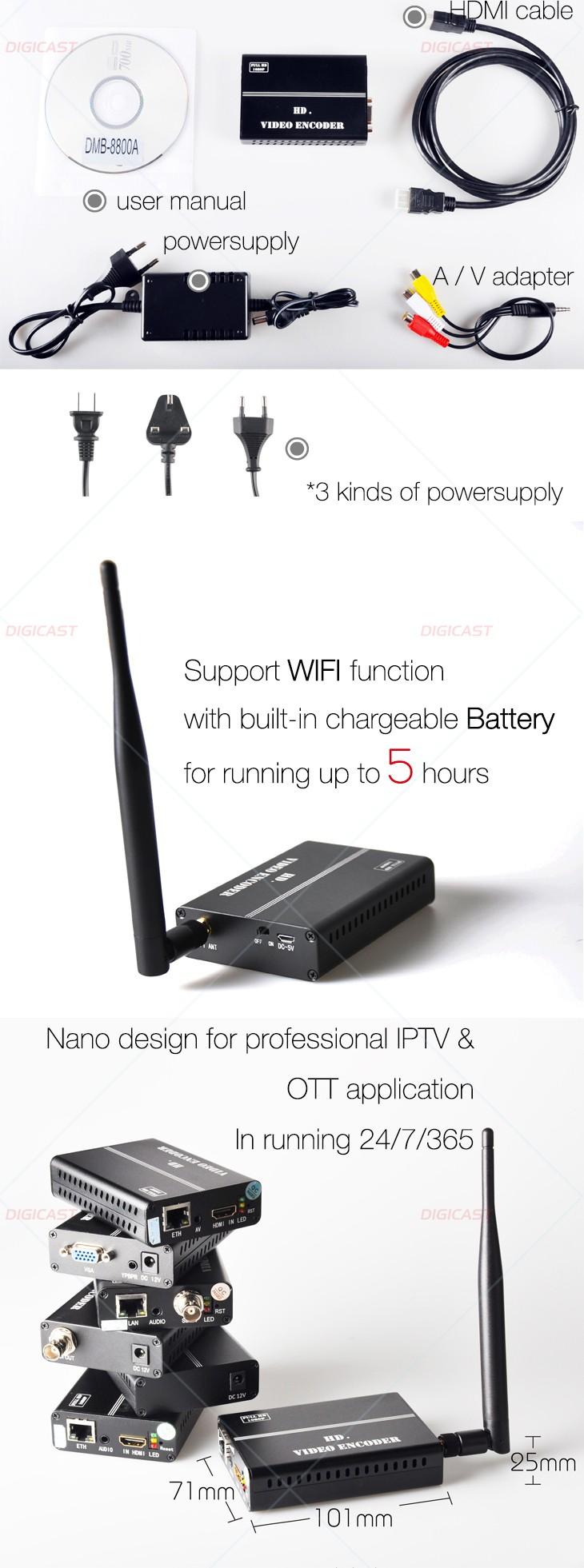 Iptv Streaming Server Ip Video Cable Tv Digital Encoder H 264 Iptv Cable Tv  Encoder For Wowza/flash/youtube/ustream - Buy Hd-mi Encoder,Iptv