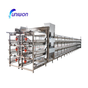 Uae chicken farm poultry equipment for sale with manure removal belt