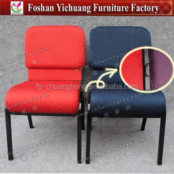 Used Interlocking Church Chairs For Sale YC G38 23