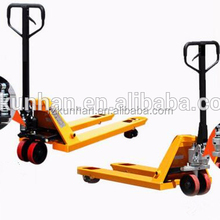 China Supplier Accepted Customized Plastic hand pallet truck price