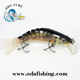 Ods 130mm/60g hybrid multi jointed lure trout deep diving lip lure manufacturermaking hard plastic lures