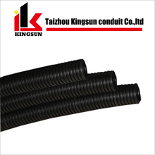 PE flexible corrugated plastic tubing black hose pipe