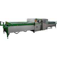 China good supplier automatic vacuum membrane press machine good pvc door laminating machine price
