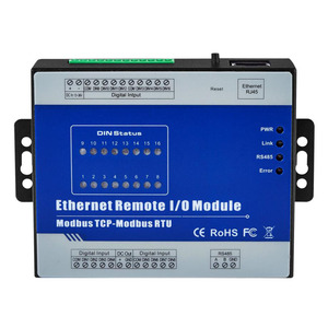 Integrated application of Ethernet data acquisition module with third-party SCADA software/PLC/HMI equipment