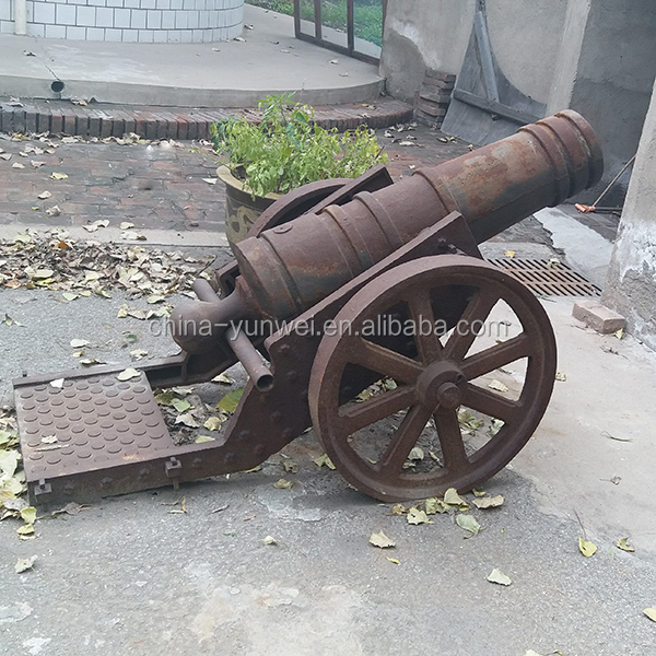 Hot Selling Ornamental Cast iron antique cannon