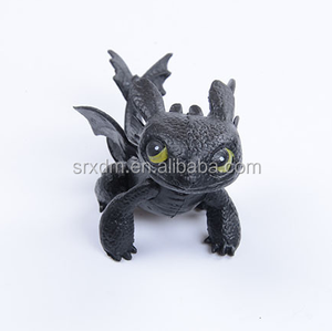 Hot Toys Maker Custom Dragon Toys Action Figures Night Fury Toothless PVC Dragon Children Gifts