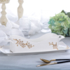 Wholesale China Factory High Quality Porcelain Bone Tableware Cutlery and Napkin Holder