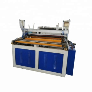 1092mm Jumbo Roll Toilet Tissue Embossing Rewinder Paper Making Machine with Cutting and Packaging Machine for Factory Supply