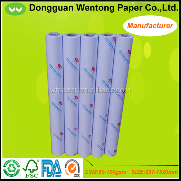 914mmx50m tracing paper for inkjet printer