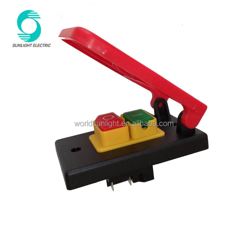 KJD17B-16 ip55 220V-240V 18A (16A) 5E4 Table Saws Electromagnetic Pushbutton <strong>Switch</strong> Paddle <strong>Switch</strong> for Wood Machine