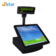 15 inch windows dual screen tablet stand pos systems terminal