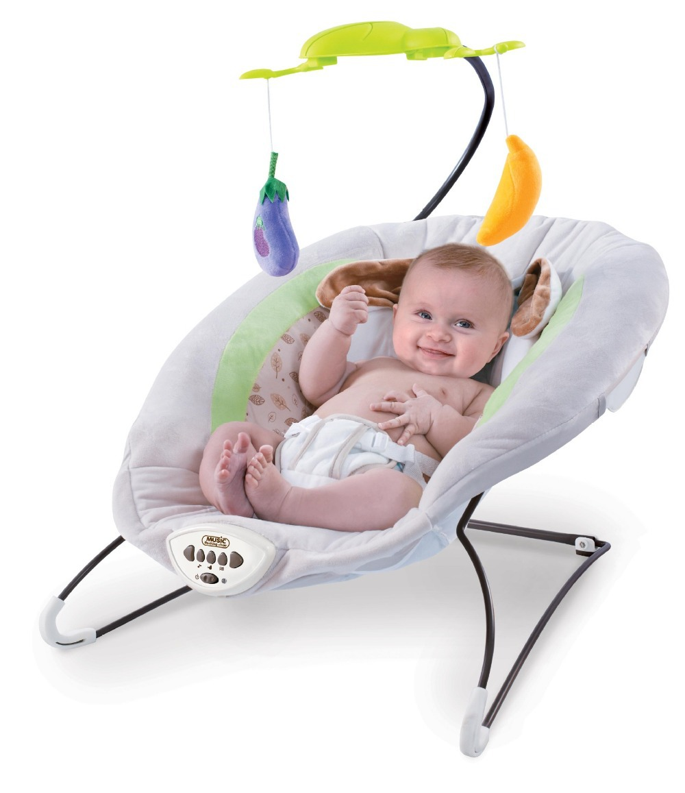 Electric baby rocker chair - Get Quotations Free Shipping Baby Rocking Chair Baby Bouncers Adjustable Chaise Multifunction Portable Electric Appease Chair Vibration Swing