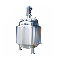 Stainless steel sanitary food industrial high speed mixing tank with agitator