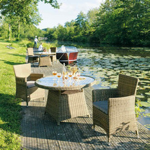 Granite Rattan Garden Patio Outdoor Tables And Chairs