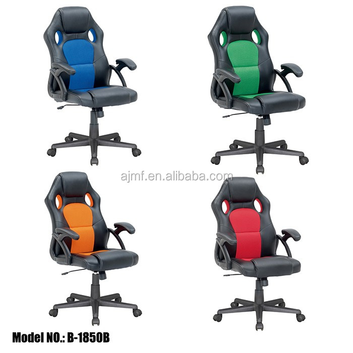 Hot sales PC racing style office chair/recaro gaming chair racing