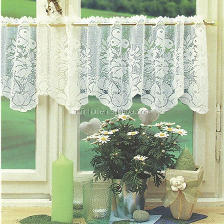 Venta al por mayor cortinas encaje cocina-Compre online los mejores ...