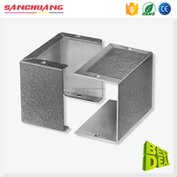 Galvanized Steel Metal Bending Manufacturing ITP Metal Steel Sheet Enclosure Fabrication