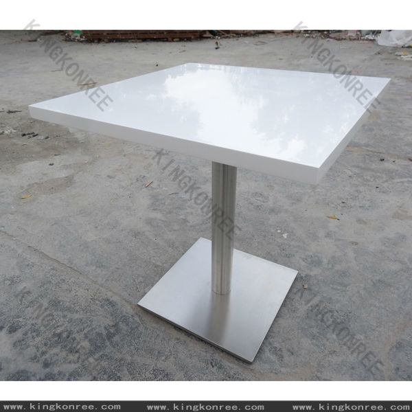 White 4 seaters kfc dining table disigns