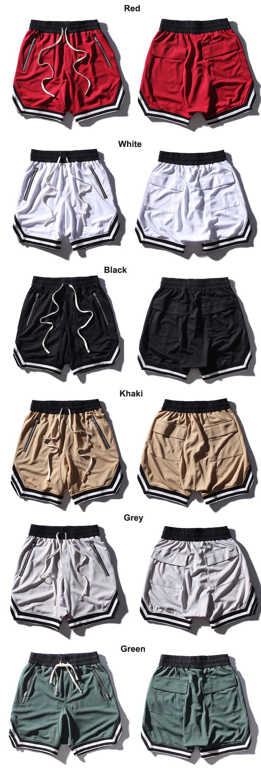 ฤดูร้อน street กางเกงขาสั้นสไตล์คุณภาพสูงลายชายฤดูร้อนสบายๆกางเกงขาสั้น