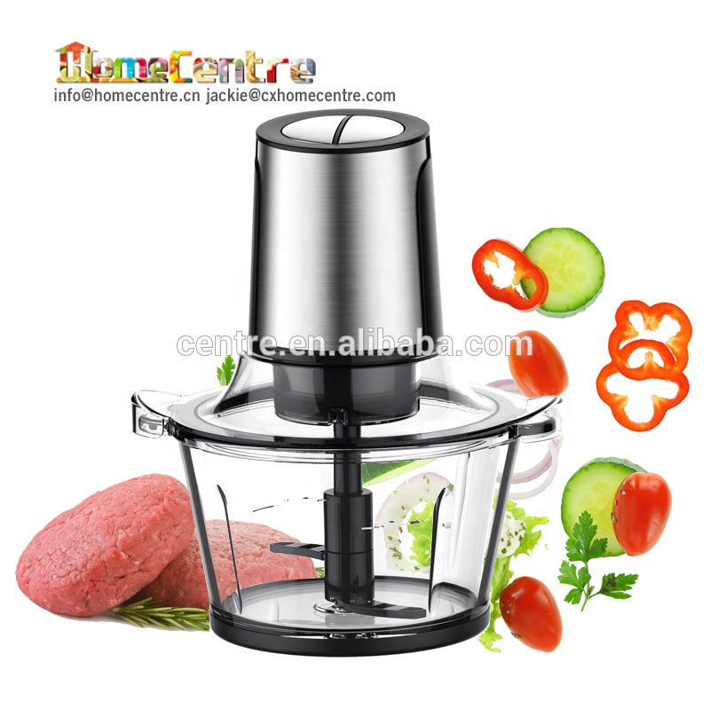 Electric Mini 1.5L Stainless Steel Food Chopper